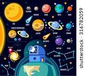 space 3d galaxy new horizons of ...   Shutterstock . vector #316782059
