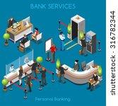 bank office building floor... | Shutterstock . vector #316782344