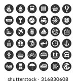 collection shipping ... | Shutterstock .eps vector #316830608