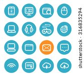 different application icons set ...   Shutterstock .eps vector #316835294