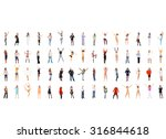isolated over white together we ... | Shutterstock . vector #316844618
