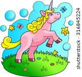 unicorn | Shutterstock .eps vector #316845224