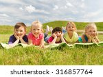 summer  childhood  leisure and... | Shutterstock . vector #316857764