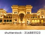 vittorio emanuele ii gallery in ...   Shutterstock . vector #316885523