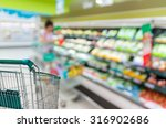 abstract blurred photo of store ... | Shutterstock . vector #316902686