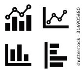 graph vector icons | Shutterstock .eps vector #316905680