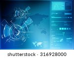 background conceptual image of... | Shutterstock . vector #316928000