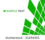 the green vector abstract... | Shutterstock .eps vector #31696501
