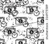 dollar time pattern  grunge ...