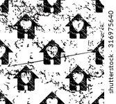 love house pattern  grunge ...