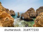 landscape of ponta da piedade... | Shutterstock . vector #316977233