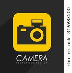 photography app icon design ... | Shutterstock .eps vector #316983500