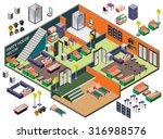 illustration of info graphic...   Shutterstock .eps vector #316988576