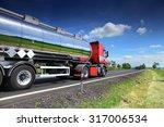 truck on the road | Shutterstock . vector #317006534