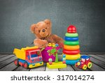 toy collection. | Shutterstock . vector #317014274