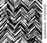 seamless distressed chevron... | Shutterstock .eps vector #317062433