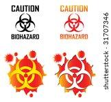 biohazard 2 | Shutterstock .eps vector #31707346