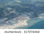 unidentified an oil depot or... | Shutterstock . vector #317076560