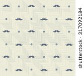 abstract hipster seamless polka ... | Shutterstock .eps vector #317092184