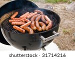 Grilling Brats And Hot Dogs
