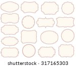 collection of different vintage ...   Shutterstock .eps vector #317165303