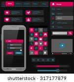 flat icons and ui web elements...