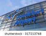frankfurt   sep 11  frankfurt... | Shutterstock . vector #317213768
