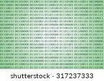 binary computer code | Shutterstock . vector #317237333
