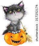 Halloween Holiday Little Cat...