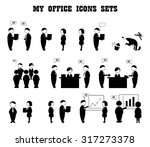 business icons set. this is my... | Shutterstock .eps vector #317273378