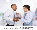 conflict arguing. | Shutterstock . vector #317320073