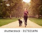 full length shot of a healthy... | Shutterstock . vector #317321696