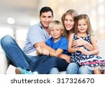 family home. | Shutterstock . vector #317326670