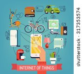 Internet Of Things Vector...