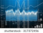 business statistics and... | Shutterstock . vector #317372456