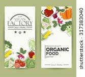 vegetable card template....   Shutterstock .eps vector #317383040