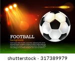 football background with... | Shutterstock .eps vector #317389979