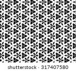 white and black patterns. | Shutterstock . vector #317407580