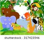 animals | Shutterstock .eps vector #317423546