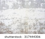 bright plastered wall surface... | Shutterstock . vector #317444306