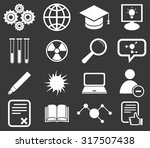 science icon set 2  simple...