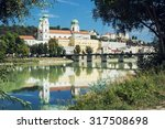 passau is a town in lower... | Shutterstock . vector #317508698