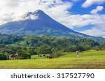 Vulcano Arenal   Horses On...