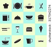 kitchen and cooking icons | Shutterstock .eps vector #317542274
