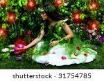 Enchanted Garden And Fairy