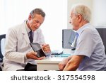 senior patient having... | Shutterstock . vector #317554598