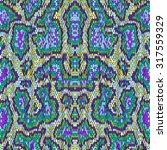 snake skin seamless vector... | Shutterstock .eps vector #317559329