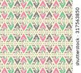 geometric triangle wallpaper... | Shutterstock .eps vector #317563850