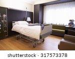 empty patient room in modern...   Shutterstock . vector #317573378