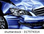 blue car crash background   Shutterstock . vector #317574314